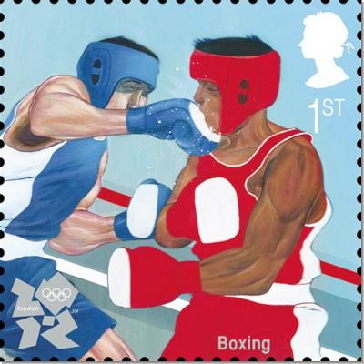 2012年伦敦奥运会英国皇家邮票艺术设计