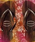 拖鞋平面创意广告设计