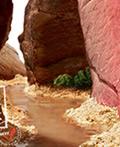 另类山水―牛扒广告设计