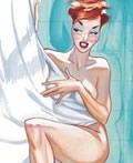 50年代性感海报设计
