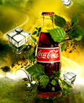 创意可口可乐主题设计