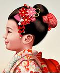 插画风格的新加坡航空日本航班形象广告设计