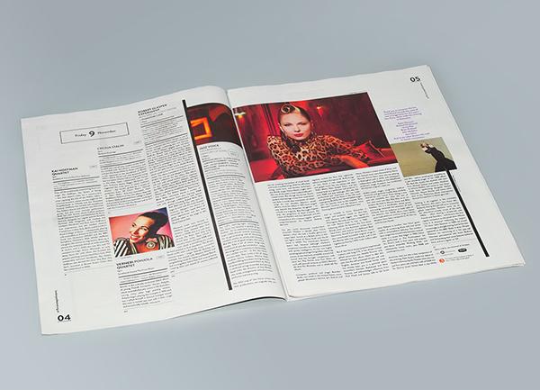 伦敦爵士音乐节平面设计作品欣赏-中国设计在线