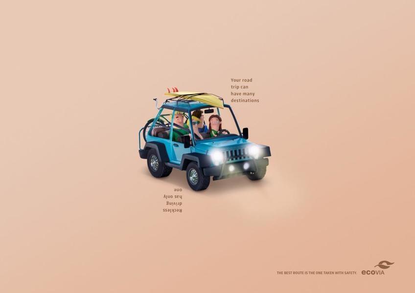 巴西ecovia平面广告设计-中国设计在线