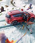 加拿大丰田平面广告设计