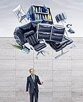 瑞士Welti-Furrer货运服务平面广告设计