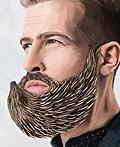 以色列吉列剃须刀片平面广告设计
