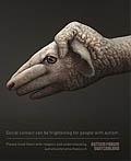 瑞士自闭症论坛平面广告设计