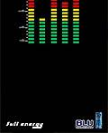以色列Blu能量饮料平面广告设计