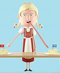 加拿大Les Producteurs de lait du Quebec奶酪平面广告设计