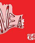美国Kit-kat酒吧平面广告设计