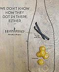美国Harpersfield葡萄酒平面广告设计