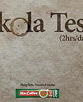 哈萨克斯坦Maccoffee平面广告设计