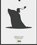 美国国家地理杂志平面广告设计