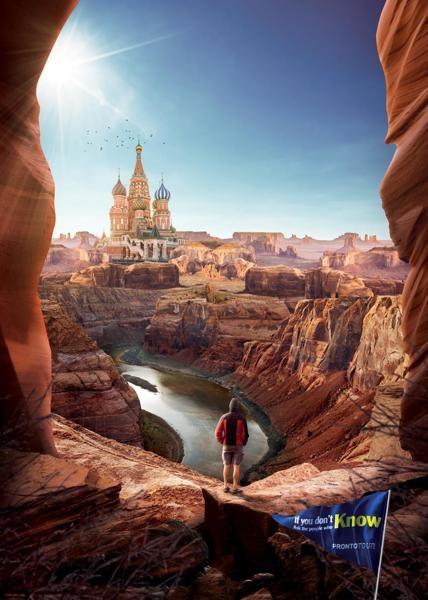 土耳其prontotour旅行社平面广告设计