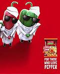 尼日利亚Indomie食品平面广告设计
