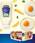 意大利Heinz食品平面广告设计