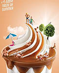 葡萄牙麦当劳快餐平面广告设计