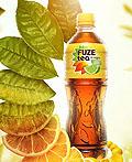 Fuze Tea红茶饮料广告设计