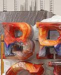 巴基斯坦平面设计师Omar Aqail 3D字体设计