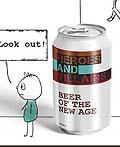 澳大利亚Heroes & Villains啤酒平面广告设计