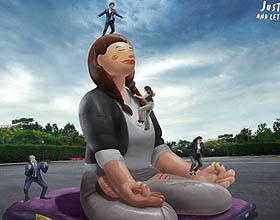 智利Mundo瑜伽平面广告设计欣赏