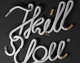 20个国外创意禁烟平面广告设计欣赏