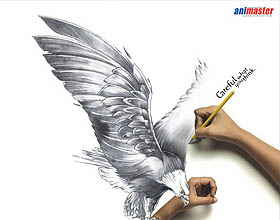 经典的铅笔广告设计