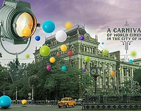 印度加尔各答国际电影节平面广告设计