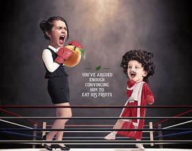 加拿大Tropicana果汁平面广告设计