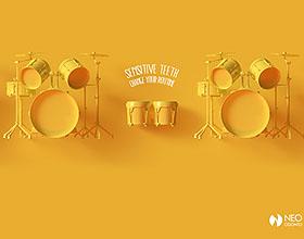 巴西Neo Odonto牙科诊所平面广告设计