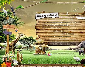 30个创意非凡的婚宴邀请卡设计灵感
