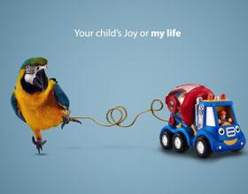 埃及世界自然基金会(WWF)平面广告设计