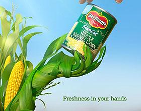 巴拿马Del Monte食品平面广告设计