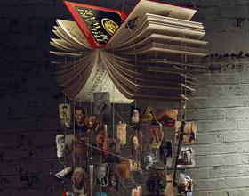 创意Arcadia Mediatica书店平面广告设计