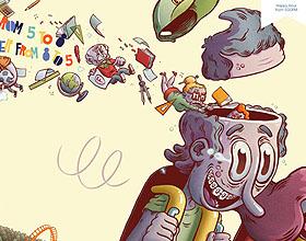 西班牙PARQUE DE ATRACCIONES主题公园平面广告设计:快乐时光