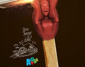 哥伦比亚Island of Aruba度假岛平面广告设计