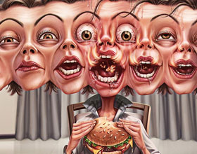 巴西De Cabrón 辣椒平面广告设计:燃烧,无聊,燃烧