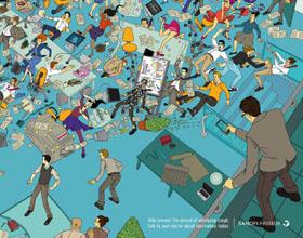 澳大利亚Sanofi Pasteur制药平面广告设计