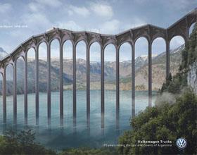 阿根廷大众汽车平面广告设计