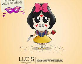 巴西Lug's美食平面广告设计:一直以来的美食