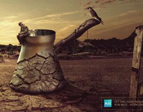 埃及Ads of the World平面广告设计:让你的想象力自由驰骋