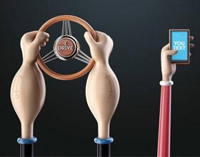 美国雪佛兰汽车平面广告设计