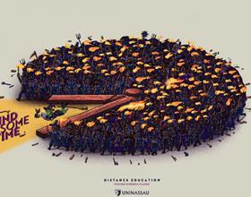 UNINASSAU远程教育平面广告设计