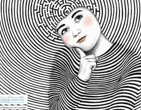Amena自闭症中心公益平面广告设计