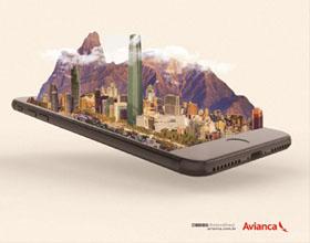 巴西Avianca Mobile App平面广告设计