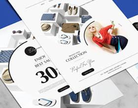 设计师Ess Kay时尚平面广告宣传单设计