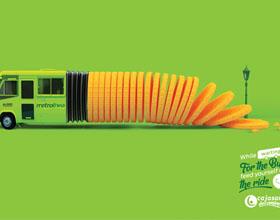哥伦比亚Cajasan Decamino公交站商店平面广告设计