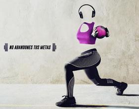 委内瑞拉PLANET  FIT体育健身平面广告设计