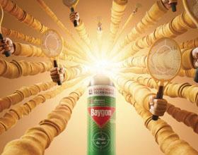 Baygon杀虫喷雾剂平面广告设计